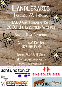 Fasnacht Bennau-2019_Lndlerabig