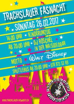 Fasnacht in Trachslau 2017