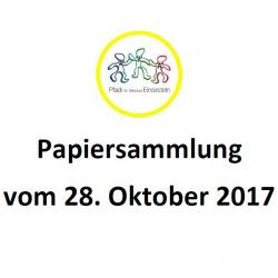 papiersammlung 2017_10_28